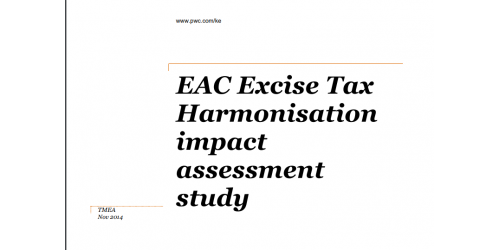 EAC Excise Tax Harmonisation impact assessment - TMEA study